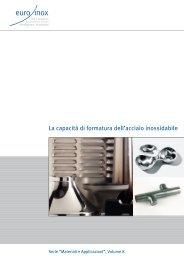 PDF: La capacità di formatura dell'acciaio inossidabile - Euro Inox
