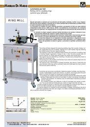 RING MILL - Mario Di Maio Home Page