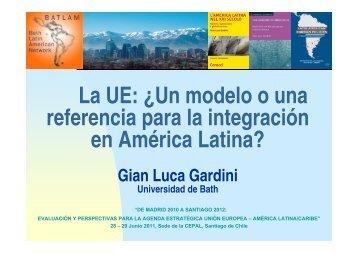 Ponencia Gian Luca Giardini - Fundación Carolina