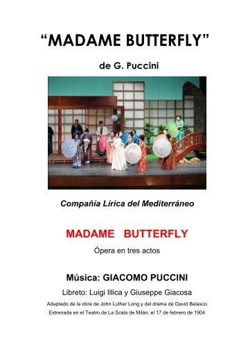 Dossier Madame Butterfly Alcoy - Grupo Sona