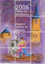 Fiestas de San Antonio Daganzo del 8 al 12 de junio Fiestas de San ...