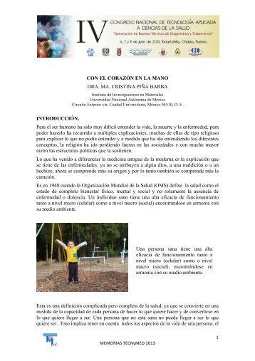 Dra. María Cristina Pina Barba - Óptica