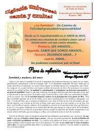 La santidad - pdf - Federación de Monjas Minimas