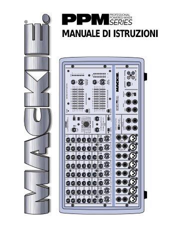 MANUALE DI ISTRUZIONI - Strumenti Musicali .net