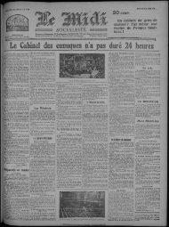 Le Cabinet cics eunuques n'a pas duré 24 heures - Bibliothèque de ...