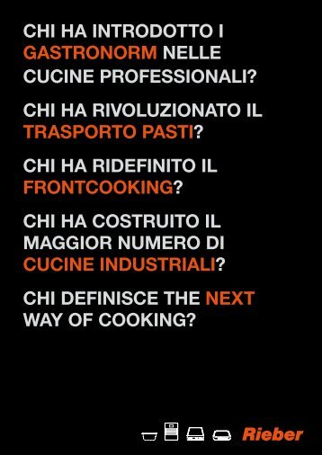 chi ha introdotto i gastronorm nelle cucine professionali? - Rational.it