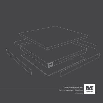 Catalogo pavimenti sopraelevati - Fratelli Moncini