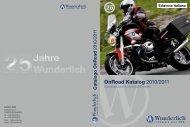 OnRoad Katalog 2010/2011 - Wunderlich