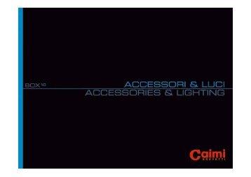 Informazione su accessori e luci Caimi Brevetti - Pratmarmilano.it