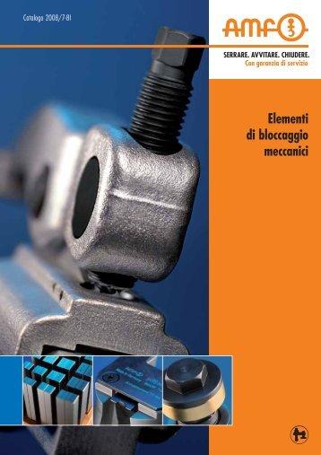 Catalogo Staffe, Dadi e Bulloni AMF - Corisnc.It