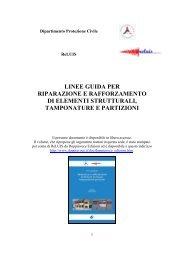 linee guida per riparazione e rafforzamento di elementi strutturali ...