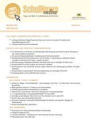 SchulNews online 41 – März/April 2013 - KV