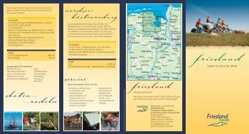 friesland - Wilhelmshaven Touristik und Freizeit GmbH