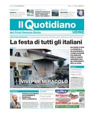 La festa di tutti gli italiani - il quotidiano Fvg