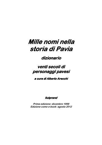 Mille nomi nella storia di Pavia - Liutprand