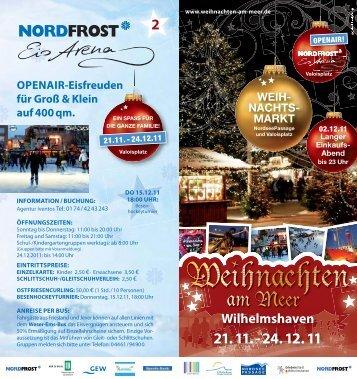 Flyer WaM_2011_p8.indd - Wilhelmshaven Touristik und Freizeit ...