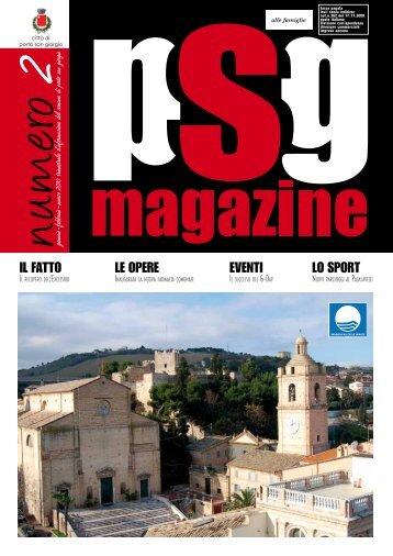 Magazine PSG n. 2 - Comune di Porto San Giorgio