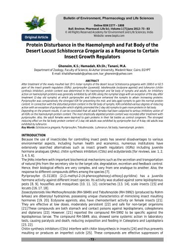 Full Paper Download in PDF - Bulletin of Environment ...