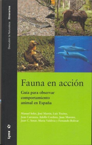Fauna en acción - Paulino Fandos