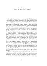 Alessandro Manzoni, scarso grecista ma ottimo latinista, quale si ...