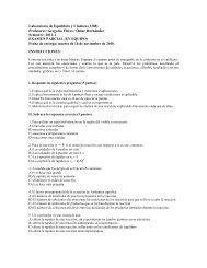 Laboratorio de Equilibrio y Cinética (1308) Profesores: Gregoria ...