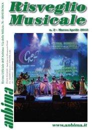 Risveglio Musicale n°2 2013 - ANBIMA