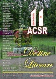 Destine Literare nr. 22 - iunie-iulie 2012 - Scriitorii Romani din Canada