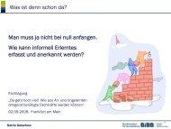 ausführlichere Fassung des Vortrags von Frau Gutschow - Werkstatt ...
