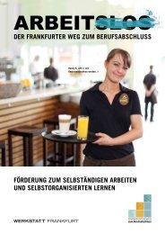 Frankfurter Weg zum Berufsabschluss - Werkstatt Frankfurt eV