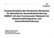 Vortrag Brigitte Jürgens-Scholz - Werkstatt Frankfurt eV