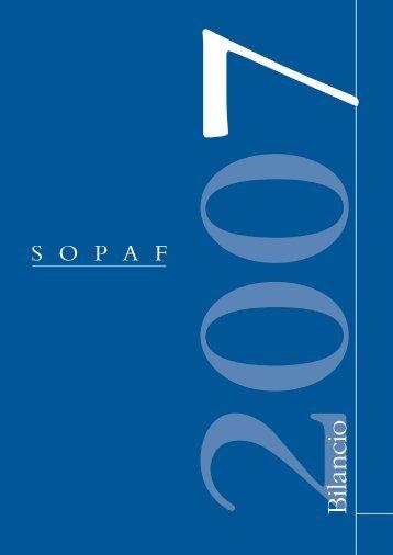 Bilancio al 31 Dicembre 2007 - SOPAF