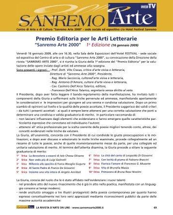 premio poesia 8.indd - SanremoArte2000.it