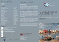 Programma - Associazione Geriatri Extraospedalieri