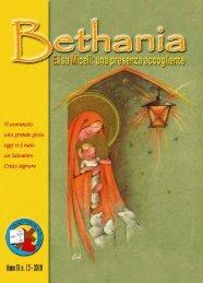 Bethania Anno IX n. 13 - 2010 (PDF) - Elisamiceli.it