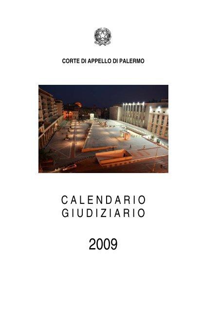 Padre Michele Vassallo Calendario.Il Calendario Giudiziario Giudice Di Pace Di Palermo