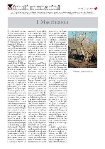 295 I Macchiaioli - Fondazione Internazionale Menarini