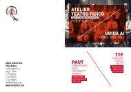 guida ai corsi 2012-2013 - Atelier Teatro Fisico