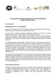 L'EDUCAZIONE BILINGUE IN UN MODELLO DI ... - A.Magarotto