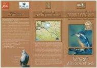 Volantino sugli uccelli della nostra Riserva naturale