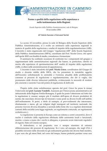 Scuola Superiore della Pubblica Amministrazione, sede di Bologna