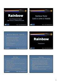 Presentazione - Rainbow Portal