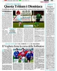 25/02/2008 Campionato 25a Giornata: Girone B - serie d news