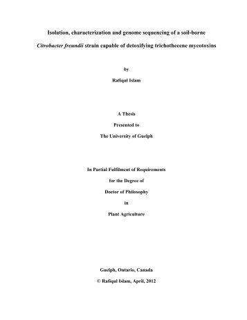 rafiqul_islam_PhD thesis_May3.pdf - Atrium - University of Guelph