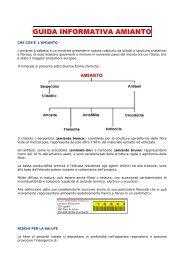 GUIDA INFORMATIVA AMIANTO - Regione Abruzzo