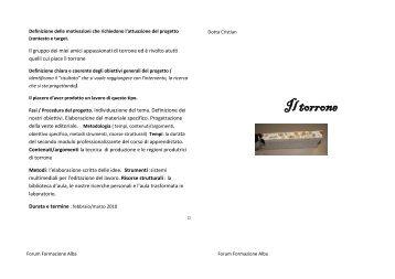 Il torrone (Dotta Christian) - Forum Formazione