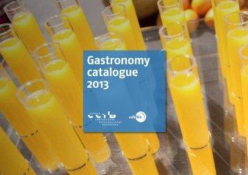 Gastronomy catalogue 2013 - CCIB