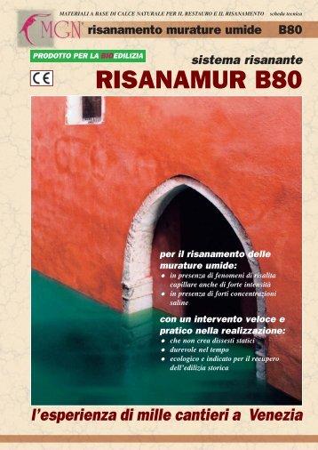 Risanamur B80:Risanamur B80 - MGN Intonaci
