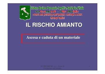 IL RISCHIO AMIANTO - UNPISI