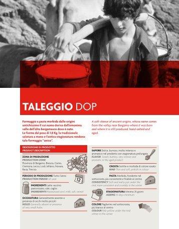 Scarica la scheda PDF - Arrigoni Formaggi