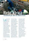 Ciclo idrico: 149 milioni di investimenti - ACEGAS-APS spa - Page 4